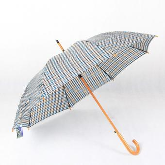 Auto Wooden Stick Umbrella
