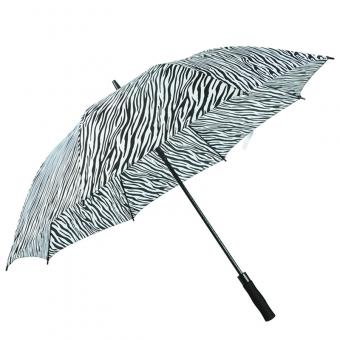 Zebra Stripe Design Golf Umbrella